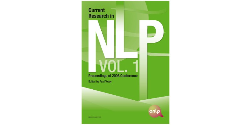 Current Research in NLP - Volume 1