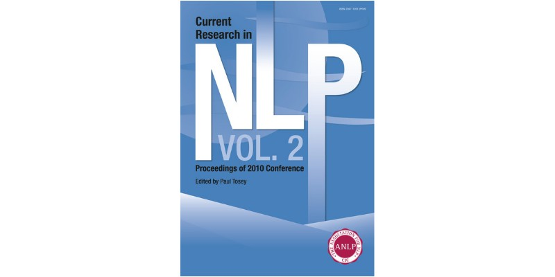 Current Research in NLP - Volume 2