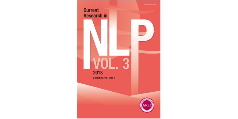 Current Research in NLP - Volume 3