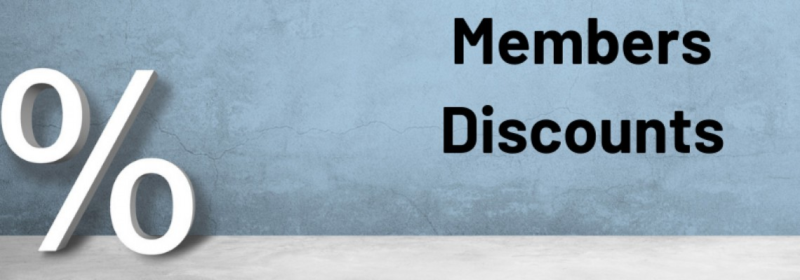 Membership Benefits - Discounts