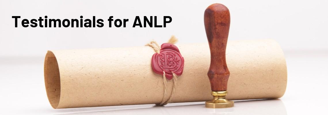 ANLP Testimonial - Reb Veale