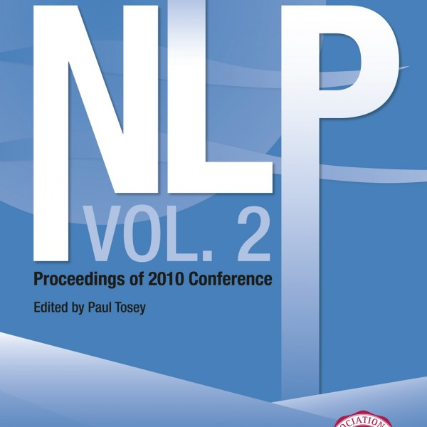 Current Research in NLP - Volume 2 Print