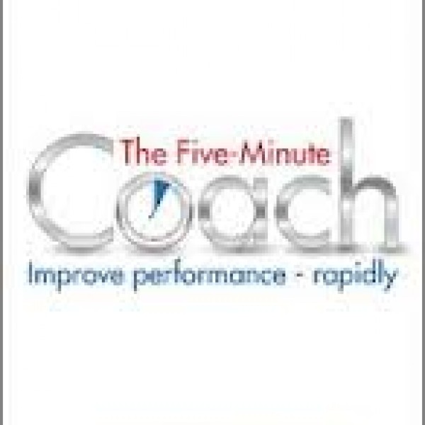 The Five Minute Coach by Lynne Cooper and Mariette Castellino