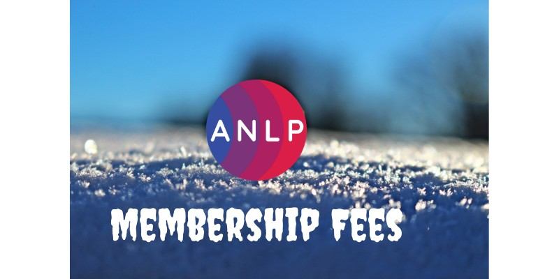 ANLP Membership Fees...The Big Freeze!