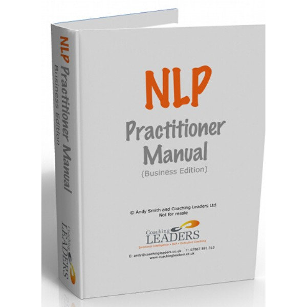 Fully Customisable NLP Practitioner Manual by Andy Smith