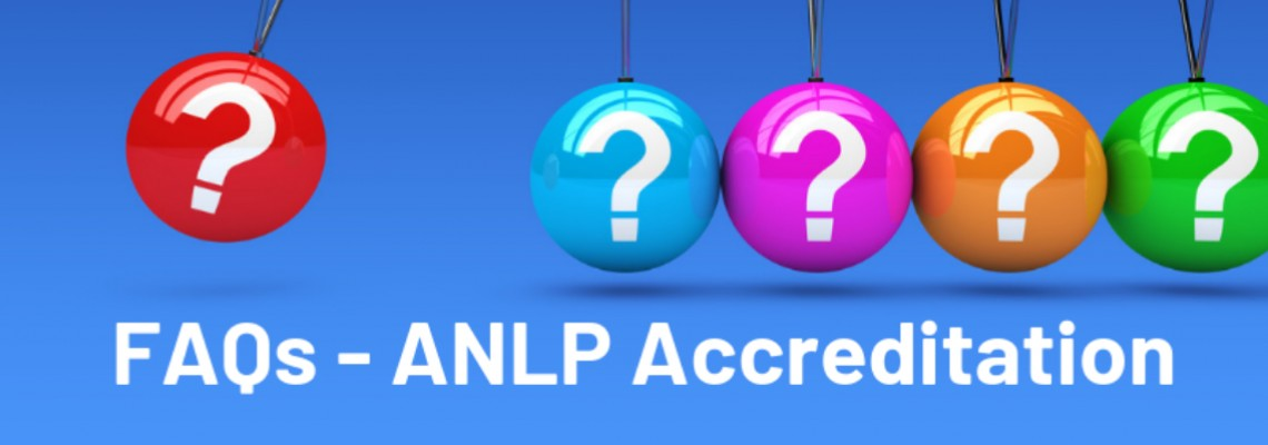 FAQs relating to ANLP Accreditation