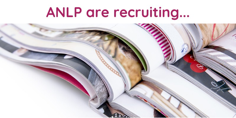 ANLP are recruiting...