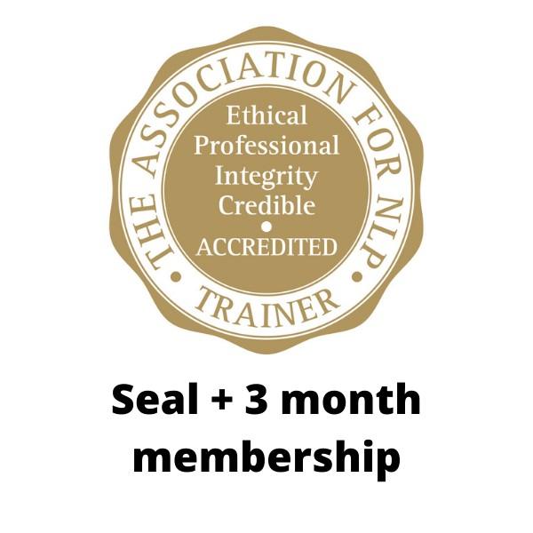 ANLP Accreditation Seal inc 3 month membership