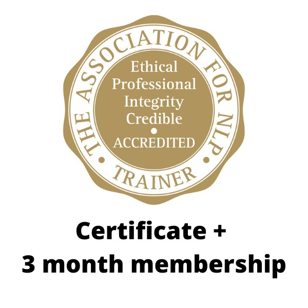 ANLP Accreditation Certificates in 3 month membership