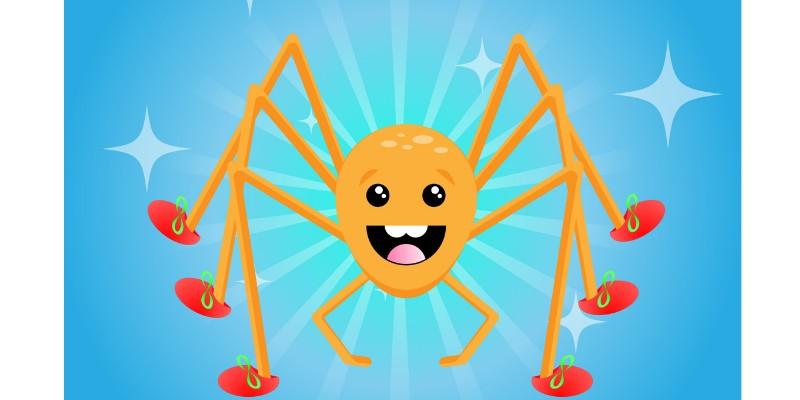 I Love Henry Spider now !